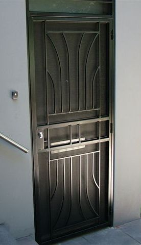 steel door solid steel door & Security Grill Doors - Window Grills - Gates - Fences Portfolio Pezcame.Com